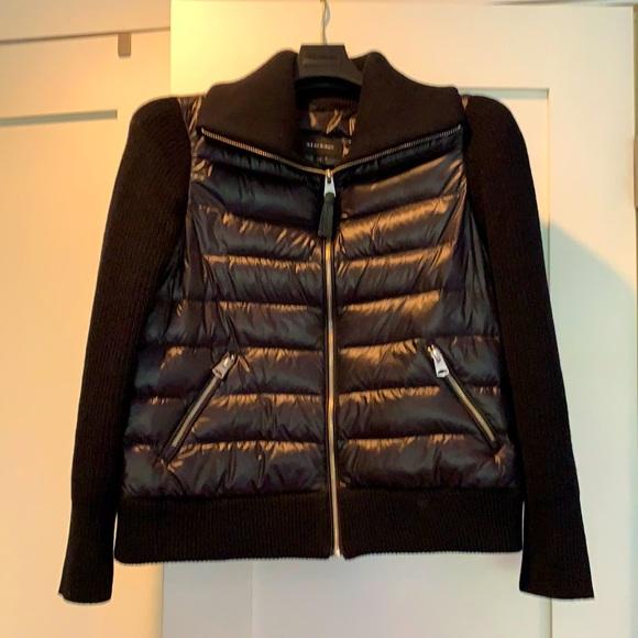 Mackage Puffer cardigan jacket